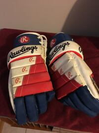 Vintage hockey gloves  Pickering, L1V
