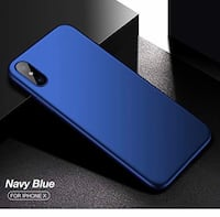 Brand New : iPhone X Case, Ultra Slim Silicone Cover Case for Apple iPhone X, 360 Full Protective Anti-Scratch (Blue) 圣地亚哥, 92123