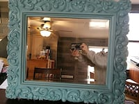 Beveled glass framed wall mirror Knotts Island, 27950