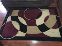 white, red, and black area rug Dallas, 75224