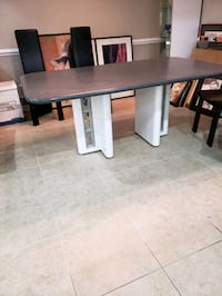 "Corian dining table 72"" long. Freehold, 07728"