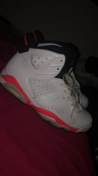 Infared 6s (White) Just need to be cleaned. Havent been worn in a while. 10.5, Will do Trades too Woodbridge, 22193