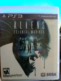 PS3 Aliens game