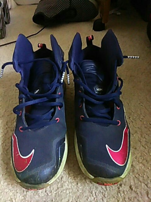 a7de91227bc7 Used blue Nike basketball shoes for sale in Amarillo - letgo