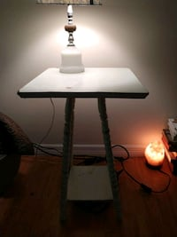 Cute vintage wooden display table shabby chic Fort Myers, 33919