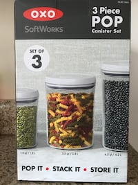 OXO SoftWorks Pop Container Set Potomac, 20854