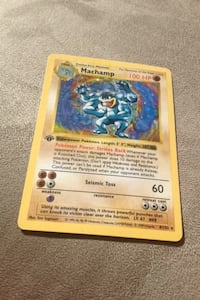 Pokemon machamp playing card Surrey, V3T 0H6