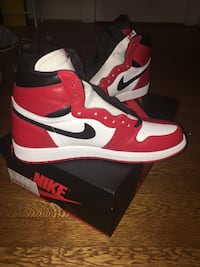 Homage to Home Air Jordan 1's Size 10 Brand Nee Washington, 20015