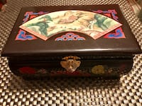Vintage Chinese  Music jewelry box