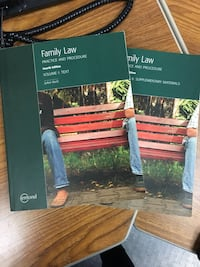 Family law textbooks - both volums 544 km