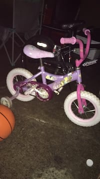 toddler's purple and white bicycle Haverhill, 01835