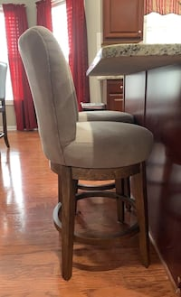 2 Ashley counter height barstools for sale