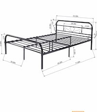 Full Size Metal Bed Frame Washington, 20002