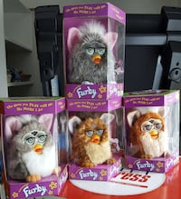 1998 Series 1,2,and 4 Furby each one $35