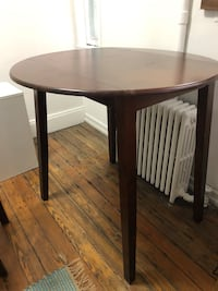 FOR SALE AGAIN- Wooden table and matching chairs New York, 10014