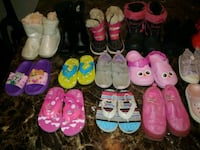 21 pairs of boots Nd shoes $50 obo Edmonton, T5C 0E8