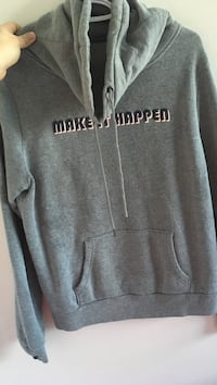gray and white Aeropostale pullover hoodie Edmonton, T5L 4C9