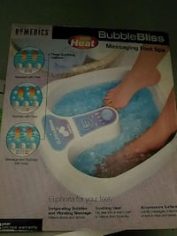 Massaging Foot Spa with heat Suffern, 10901