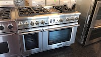 """Stainless steel gas range oven thermador 48"""" Toronto, M3J"""