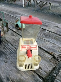 Vintage children's soda parlor dispenser 126 mi