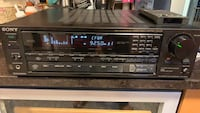 Vintage Sony Digital surround receiver Dolby Fm/Am Stereo with remote