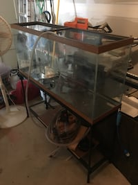 rectangular clear glass fish tank 34 km