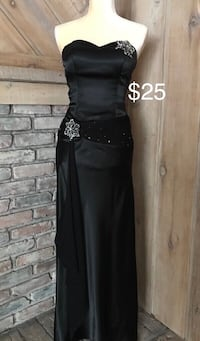 Black Formal dress size 2