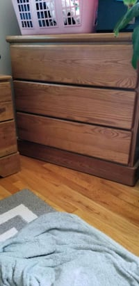 2 Solid oak dressers St. Clair Shores, 48081