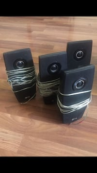 Sound system LG 6 different speakers, 3 different sizes  Antioch, 94509