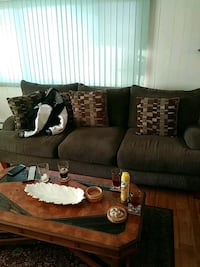 brown and white sofa set Toms River, 08757