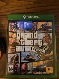 Grand Theft Auto Five Xbox One game case Easley, 29640