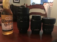 $500 in lenses for Nikon cameras with UV filters for $275!!! Am I crazy?!?! (corona not included)! Opteka 6.5mm fisheye lens, Tamron 70-300mm af, and Nikon 55-200mm!!! Instant arsenal of lenses! This won't last long! Grab them before I come to my senses!! Ocean, 07712