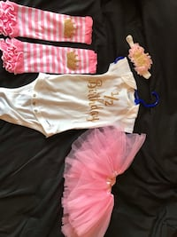 6 month outfit 1/2 Birthday  Hagerstown, 21740