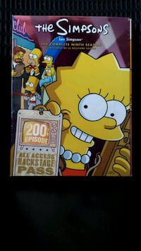 The Simpsons The Complete Series DVD case Hamilton, L9C