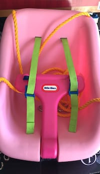 pink and green Little Tikes activity gym Salinas, 93906