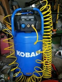 Kobalt air compressor also comes with air wrench and sockets