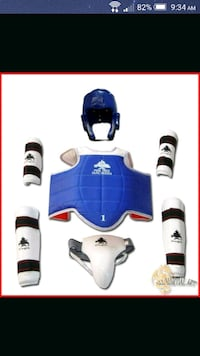 Childrens sparring gear Like picture size 2 Barrie, L4N 6V2