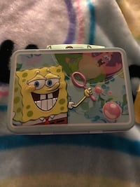 Sponge bob gift set & three DVDs  San Bernardino, 92407