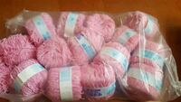 lot of pink yarn - new Surrey, V3W