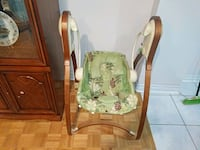 baby's white and green swing chair Toronto, M2R 3E9