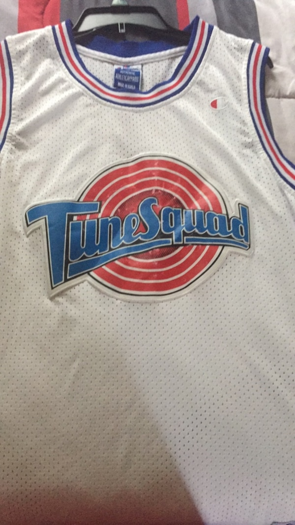 sports shoes f6d74 521b7 Tunes squad Jersey
