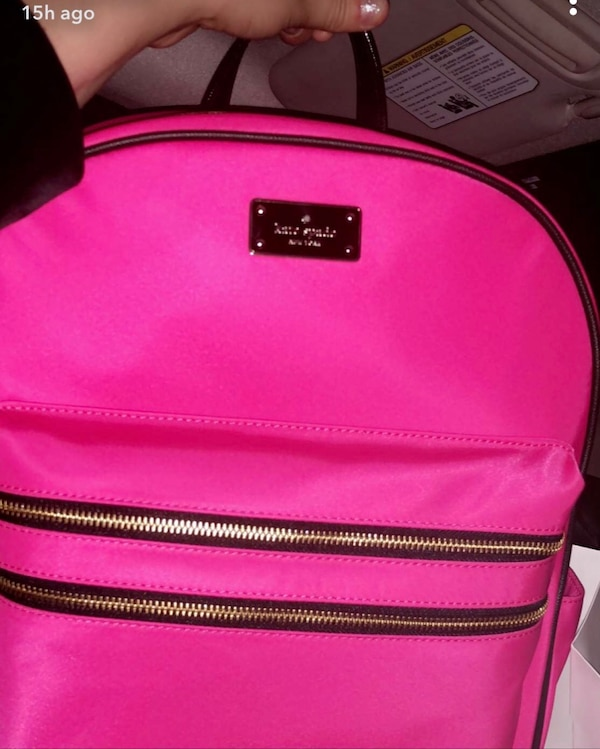 f90fd9887 Used pink Kate Spade backpack for sale in Gulf Shores - letgo