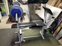Weight Bench with Leg Curl functon Provo