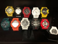 G-SHOCK Watches Selling each from $120 to $50