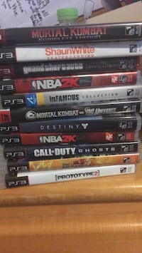 assorted Sony PS3 game cases Washington, 20020