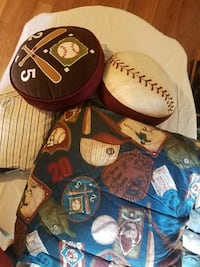 baseball-themed bed set Pittsburg, 94565