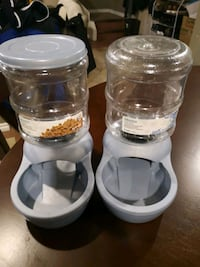 Water and food containers for dogs or cats Calgary, T2V 3Z6