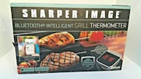 Electronic SHARPER IMAGE GRILL THERMOMETER New Castle