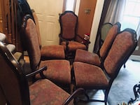 Dining room chairs set of 6 36 mi