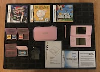 Used NINTENDO DS Lite - Pink with games bundle Toronto, M3C 1T1